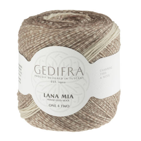 Lana Mia One 4 Two von Gedifra - 00952 braun im Makerist Materialshop