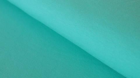 Sweatstoff mint: Eike - 155 cm im Makerist Materialshop