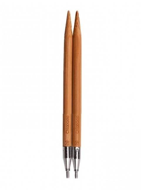 Auswechselbare Nadelspitzen SPIN Bamboo Patina 7 mm - 10 cm im Makerist Materialshop