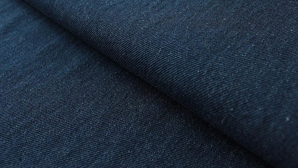 Denim bleu marine: Indigo - 145 cm dans la mercerie Makerist - Image 1