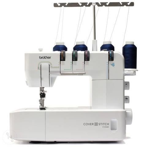 Nähmaschine Brother CV3440 Cover Stitch im Makerist Materialshop