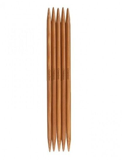 Nadelspiel Bamboo Patina von ChiaoGoo 2,25 mm - 20 cm - 6 St im Makerist Materialshop - Bild 1