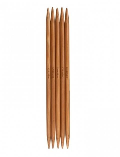 Nadelspiel Bamboo Patina von ChiaoGoo 8 mm - 20 cm - 5 St im Makerist Materialshop