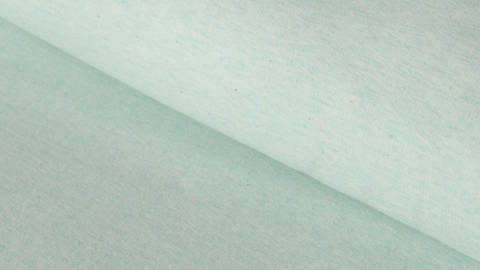 Mintfarbener Sweatstoff: brushed - 140 cm im Makerist Materialshop
