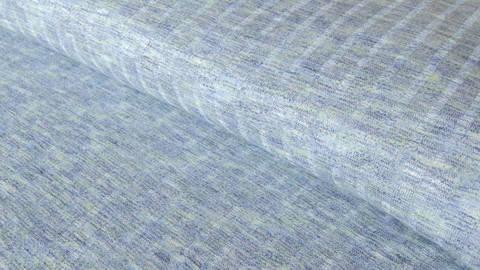 Blauer Rippenstrick: Space Dyed - 150 cm im Makerist Materialshop