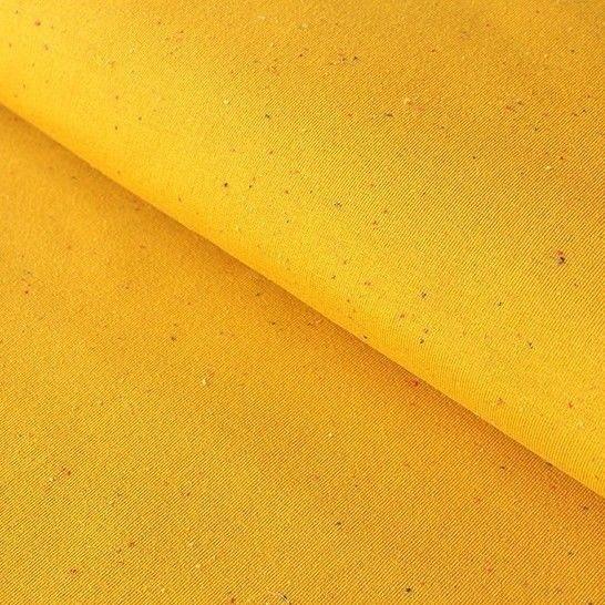 Ockerfarbener Uni Jersey: Cosy Colors - 150 cm im Makerist Materialshop - Bild 1