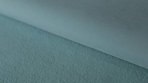 Hellblauer Uni Softshell: dreilagig - 144 cm im Makerist Materialshop