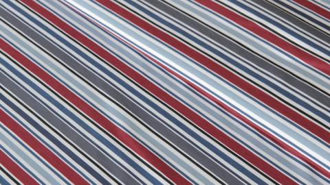 Navy-bordeaux-taupefarbener Ringeljersey - 150 cm im Makerist Materialshop