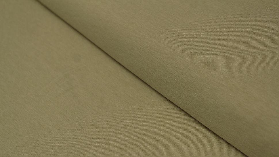 Baumwolljersey gelb-grün meliert: Avalana Melange - 160 cm im Makerist Materialshop - Bild 1