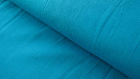 Baumwollstoff dunkeltürkis uni: Heide - 150 cm im Makerist Materialshop