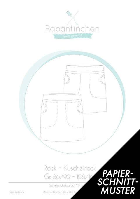 Gedrucktes Schnittmuster für: Kuschelrock im Makerist Materialshop