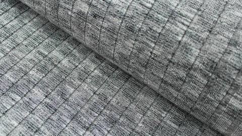 Grauer Rippenstrick - 150 cm  im Makerist Materialshop