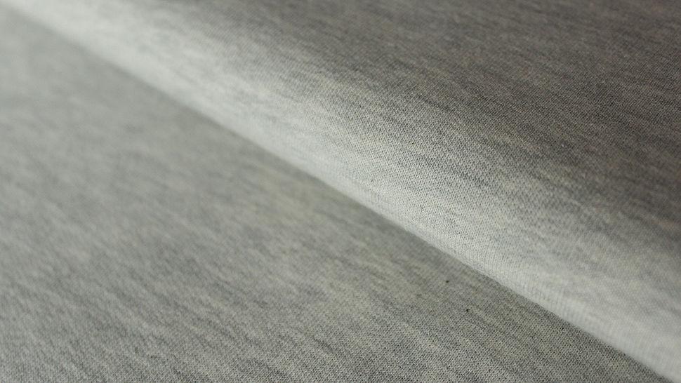 Sweatstoff hellgrau meliert: Avalana Melange - 150 cm im Makerist Materialshop - Bild 1