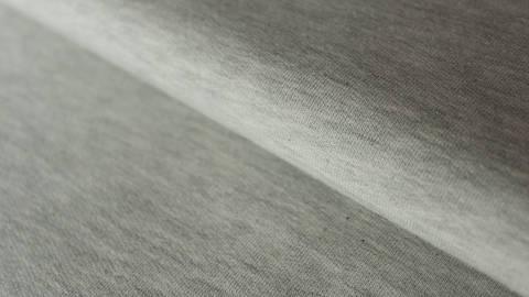 Sweatstoff hellgrau meliert: Avalana Melange - 150 cm im Makerist Materialshop