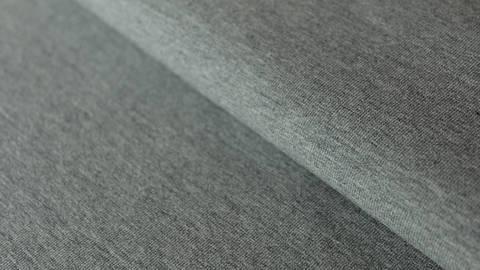 Dunkelgrau melierter Uni Baumwolljersey: Dark Grey Melange - 160 cm im Makerist Materialshop