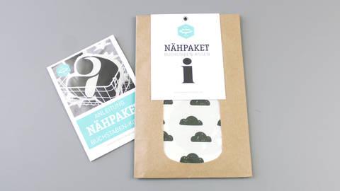 Dekokissen: Buchstabe mit Wolken-Muster - i im Makerist Materialshop