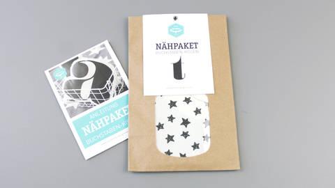 Dekokissen: Buchstabe mit Sternen-Muster - t im Makerist Materialshop
