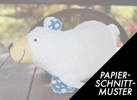 """Gedrucktes Schnittmuster für: Kuscheltier Bärin """"Wilma"""" - Baby Kind im Makerist Materialshop"""