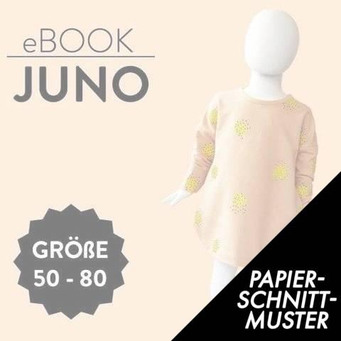 Gedrucktes Schnittmuster für: Kleid JUNO Schnittmuster Größen 50 bis 80 im Makerist Materialshop