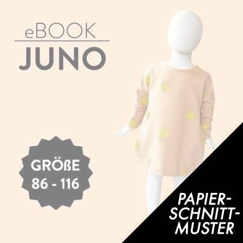 Gedrucktes Schnittmuster für: Juno im Makerist Materialshop
