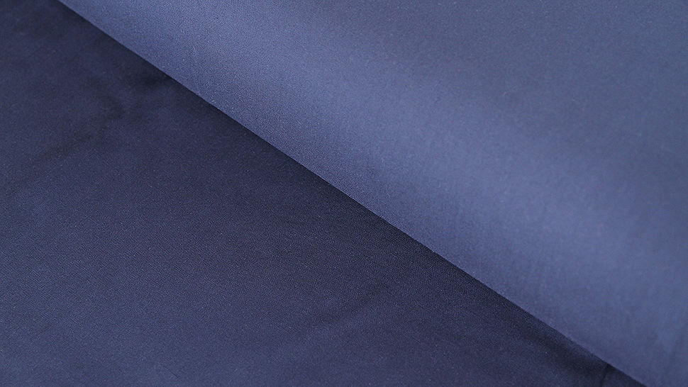 Navyfarbener Uni Radiance Viskose - 142 cm im Makerist Materialshop - Bild 1