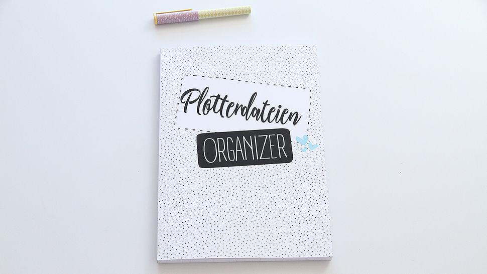 Plotterdateien Organizer designed by Juno Design im Makerist Materialshop - Bild 1