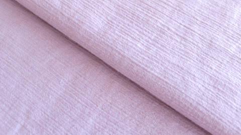 Altrosafarbener Uni Baumwollstoff: Fältchen - 127 cm im Makerist Materialshop