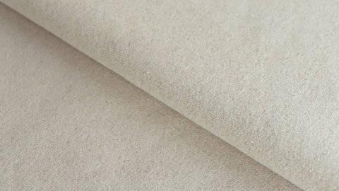 Sandfarbener Sweatstoff Melange: Glitter - 145 cm im Makerist Materialshop