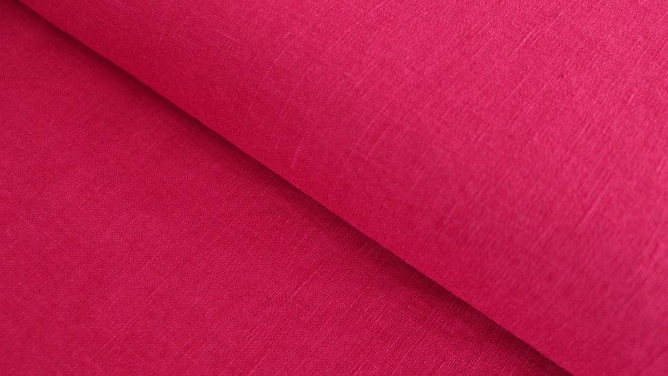 Leinenstoff rot: Damiel - 140 cm im Makerist Materialshop - Bild 1