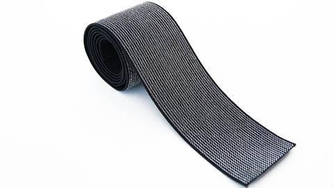 Elastisches Glitzerband - schwarz - 5 cm im Makerist Materialshop