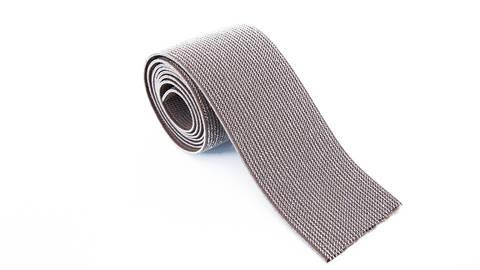 Elastisches Glitzerband - taupe - 5 cm im Makerist Materialshop