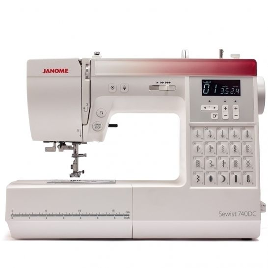 Nähmaschine JANOME Sewist 740DC im Makerist Materialshop - Bild 1