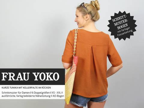 Studio Schnittreif - Schnittmuster und Nähanleitung gedruckt: Frau Yoko Tunika im Makerist Materialshop