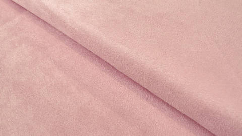 Velours-Lederimitat rosa - 150 cm im Makerist Materialshop