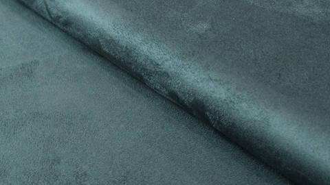 Faux suède/velours bleu pétrole - 150 cm dans la mercerie Makerist