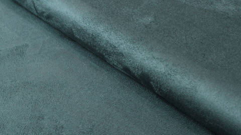Velours-Lederimitat petrol - 150 cm im Makerist Materialshop