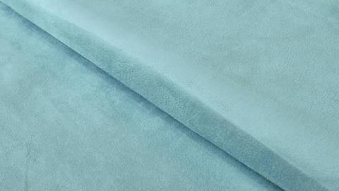 Velours-Lederimitat hellblau - 150 cm im Makerist Materialshop