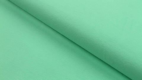 Baumwolljersey mint: uni - 160 cm im Makerist Materialshop