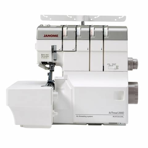 Nähmaschine JANOME AirThread 2000D Professional im Makerist Materialshop