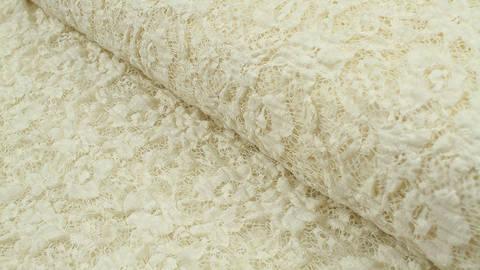 Nylon-Spitze ecru elastisch: Franzi - 137 cm im Makerist Materialshop