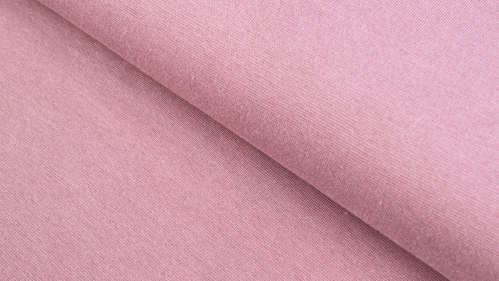 Bündchenstoff altrosa: Heike - 100 cm im Makerist Materialshop - Bild 1