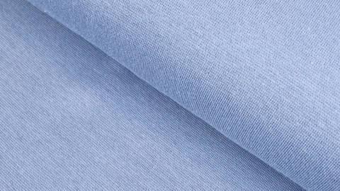 Tissu bord-côte Heike - Bleu fumé 100 cm dans la mercerie Makerist