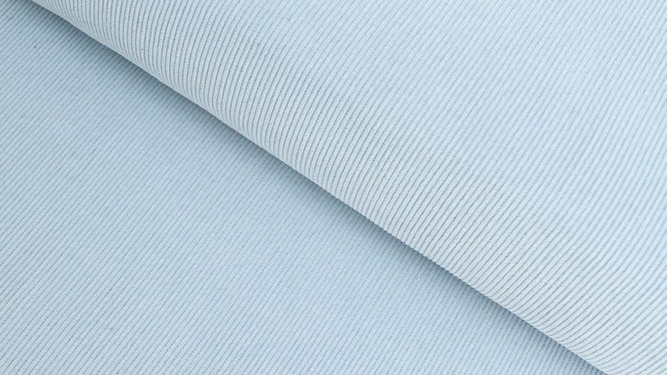 Cordstoff fein babyblau - 147 cm im Makerist Materialshop - Bild 1