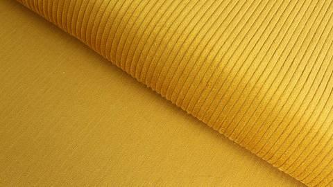 Cordstoff senfgelb - 147 cm im Makerist Materialshop