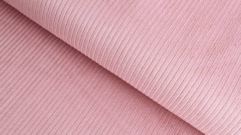 Cordstoff rosa - 147 cm im Makerist Materialshop