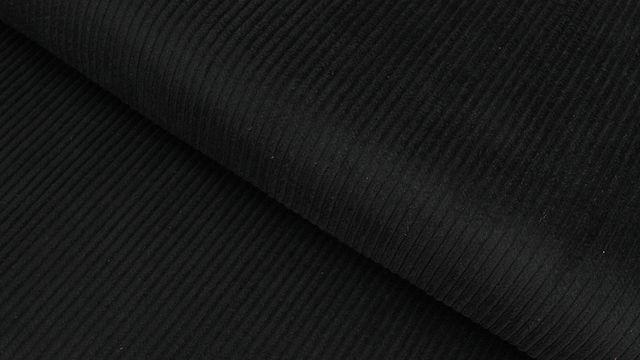 Velours côtelé noir - 147 cm dans la mercerie Makerist - Image 1