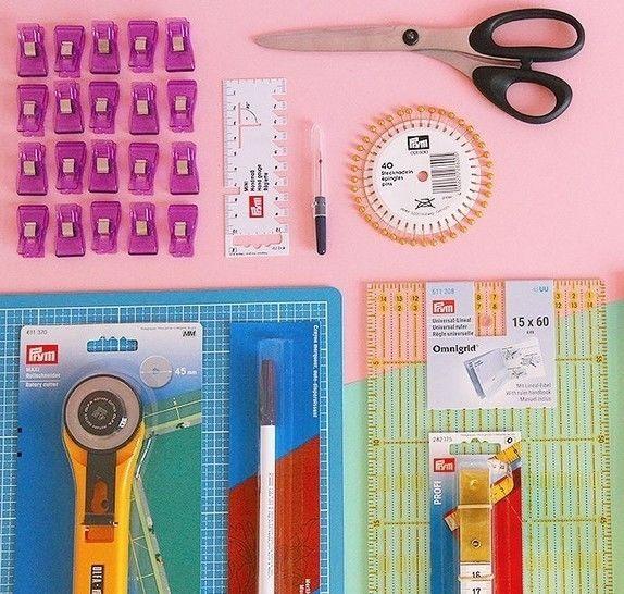 XXL Starter-Set zum Nähen inkl. Stoffpaket und Materialgutschein  im Makerist Materialshop - Bild 1