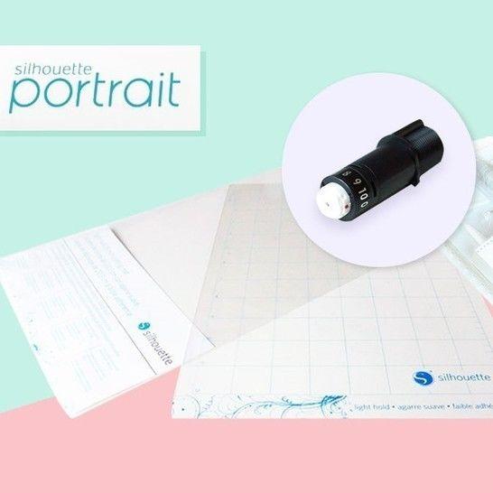 Starter-Set Silhouette Portrait 2  im Makerist Materialshop - Bild 1