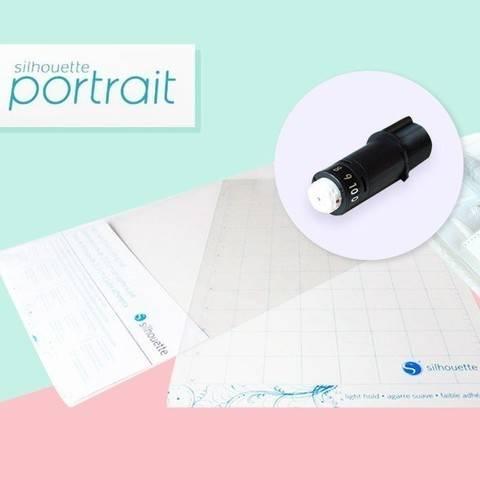 Starter-Set Silhouette Portrait 2  im Makerist Materialshop
