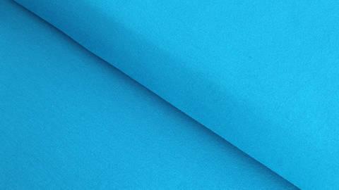 Single-Baumwolljersey elastisch blau- türkis - 160 cm im Makerist Materialshop